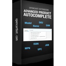 Покращене Автозаповнення товарів для адмінки OpenCart 3