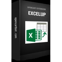 Модуль ExcelUp: оновлення цін і залишків з Excel для OpenCart 3