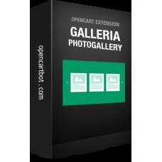 Модуль Galleria: Фотогалерея для OpenCart 3