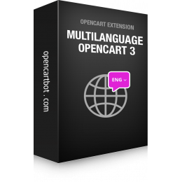 Setting up a multilingual site on OpenCart 3