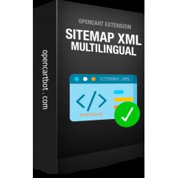 Мультимовна карта сайту XML OpenCart 3